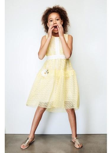Lia Lea Lia Lea Kız Çocuk Sarı Elbise 19SSLL01624 Sarı